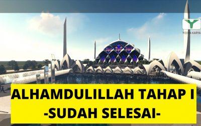 Pembangunan Masjid Raya Al-Jabbar Tahap I