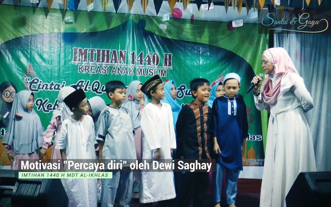 MasyaAllah!! Anak-anak ini lucu dan pintar mengaji (MOTIVASI oleh Dewi Saghay)