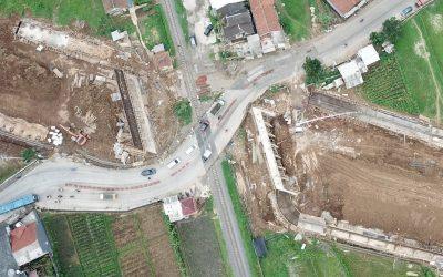 Ini progress Flyover Baros – Jalan Pembangunan (Lingkar Sukabumi Segment 3)