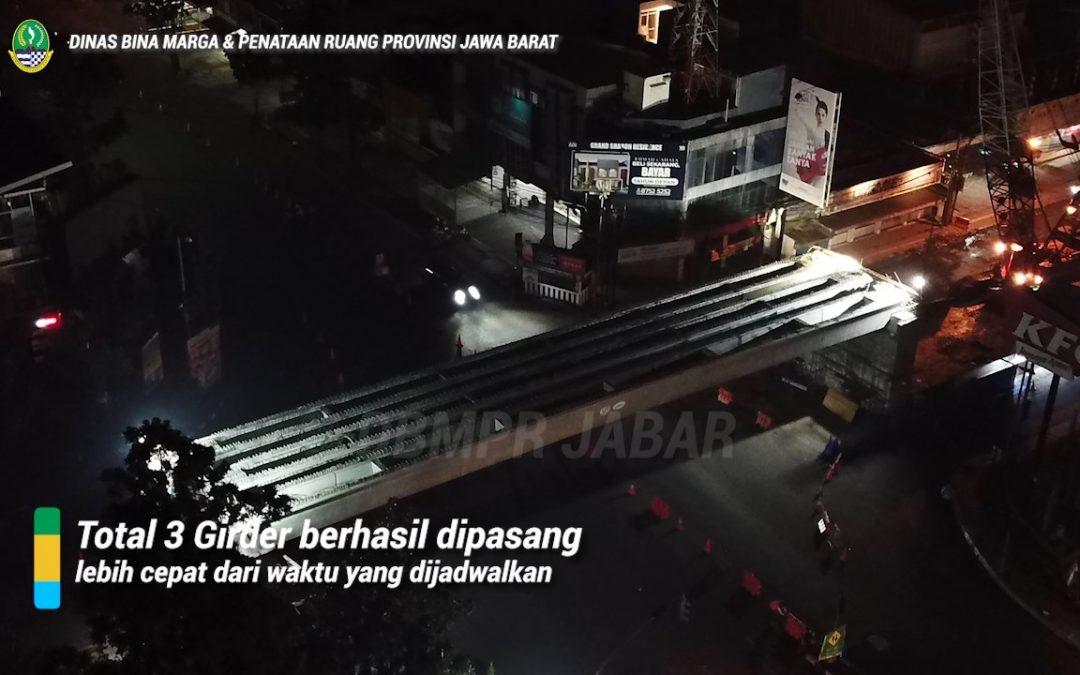 Erection Girder Flyover Jl. Jakarta – Jl. Supratman (Bandung)