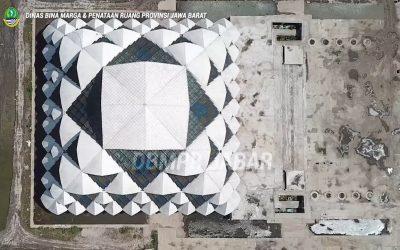 Melihat progres pembangunan Masjid Al-jabbar Tahap III (13 November 2020)