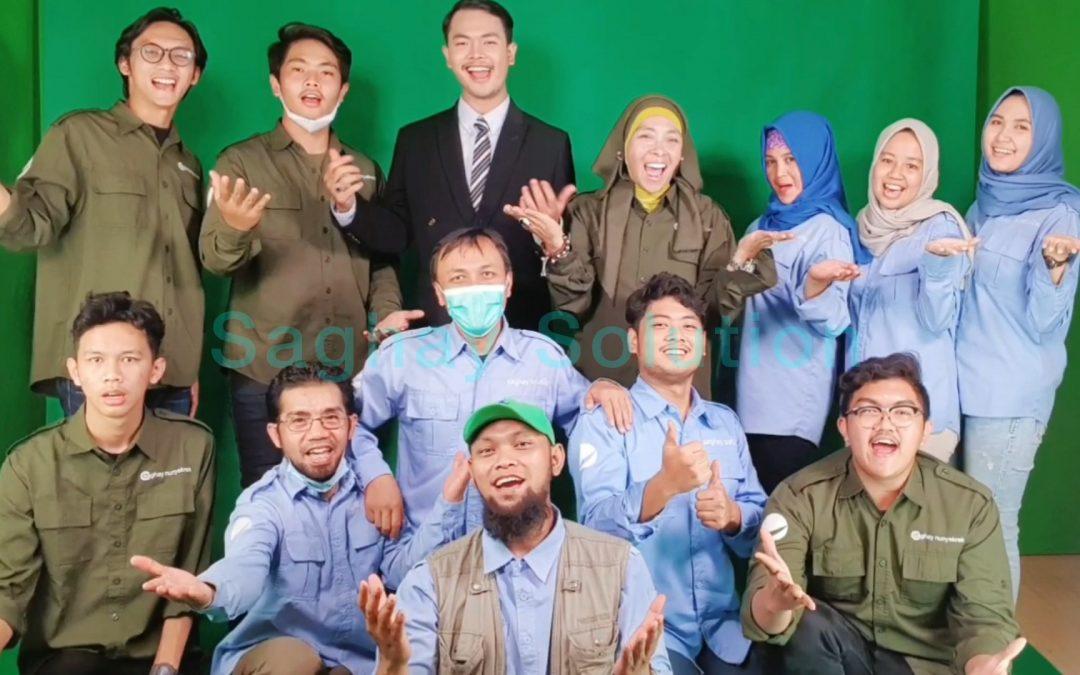 Shooting presenter Sosialisasi Masjid Raya Al-Jabbar Tahap III
