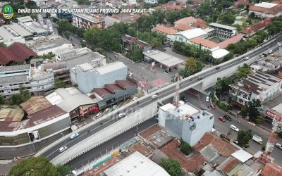 Alhamdulillah!! Flyover baru ini siap atasi kemacetan di Bandung